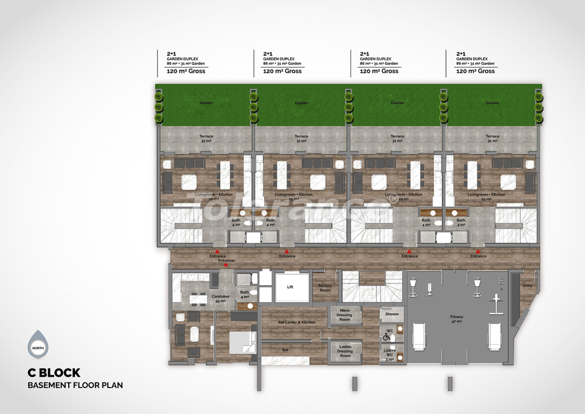Luxury residential complex in the center of Alanya  - 15212 | Tolerance Homes