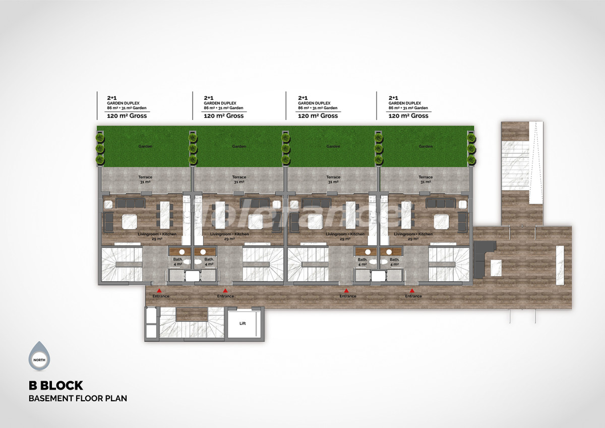 Luxury residential complex in the center of Alanya  - 15211 | Tolerance Homes
