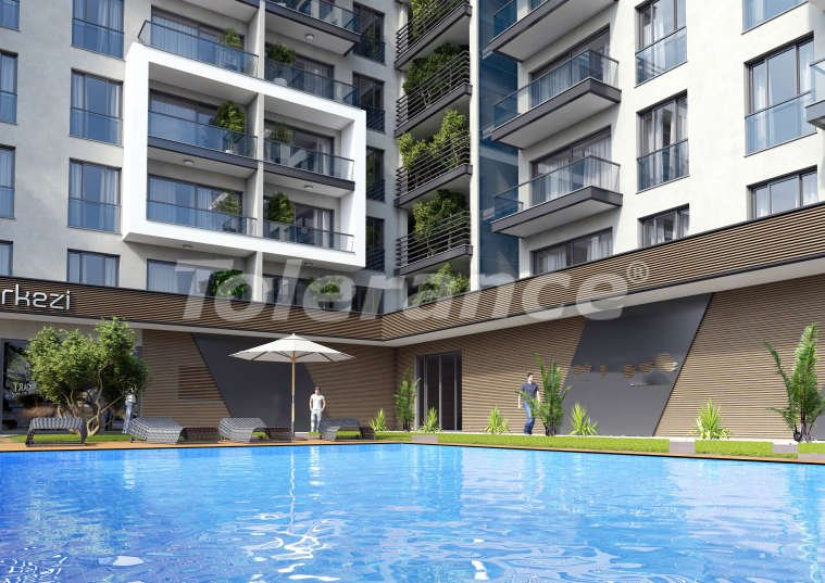 One bedroom apartments in Izmir with large terraces from one of the leading construction companies - 15229 | Tolerance Homes
