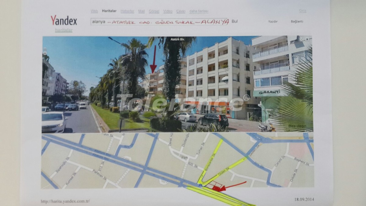 Three-bedroom apartment in the center of Alanya near the sea - 15443 | Tolerance Homes