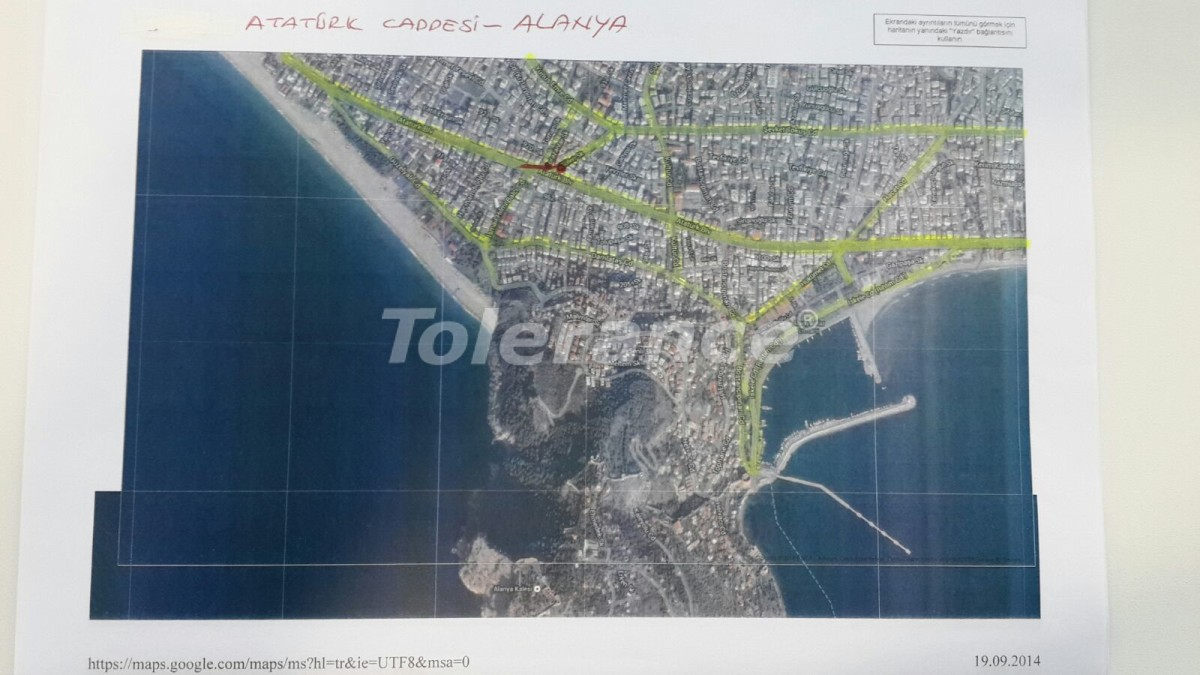 Three-bedroom apartment in the center of Alanya near the sea - 15445 | Tolerance Homes