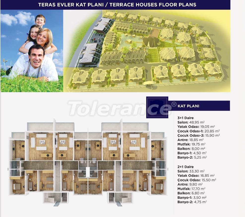 Luxury apartments and  villas in Dosemеalti, Antalya, an exclusive project - 15485 | Tolerance Homes