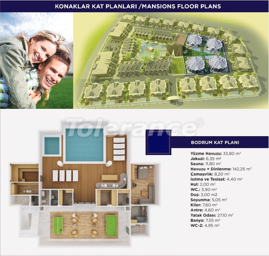 Luxury apartments and  villas in Dosemеalti, Antalya, an exclusive project - 15477 | Tolerance Homes