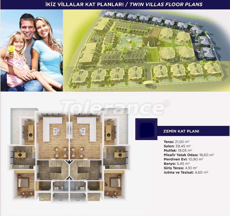Luxury apartments and  villas in Dosemеalti, Antalya, an exclusive project - 15481 | Tolerance Homes