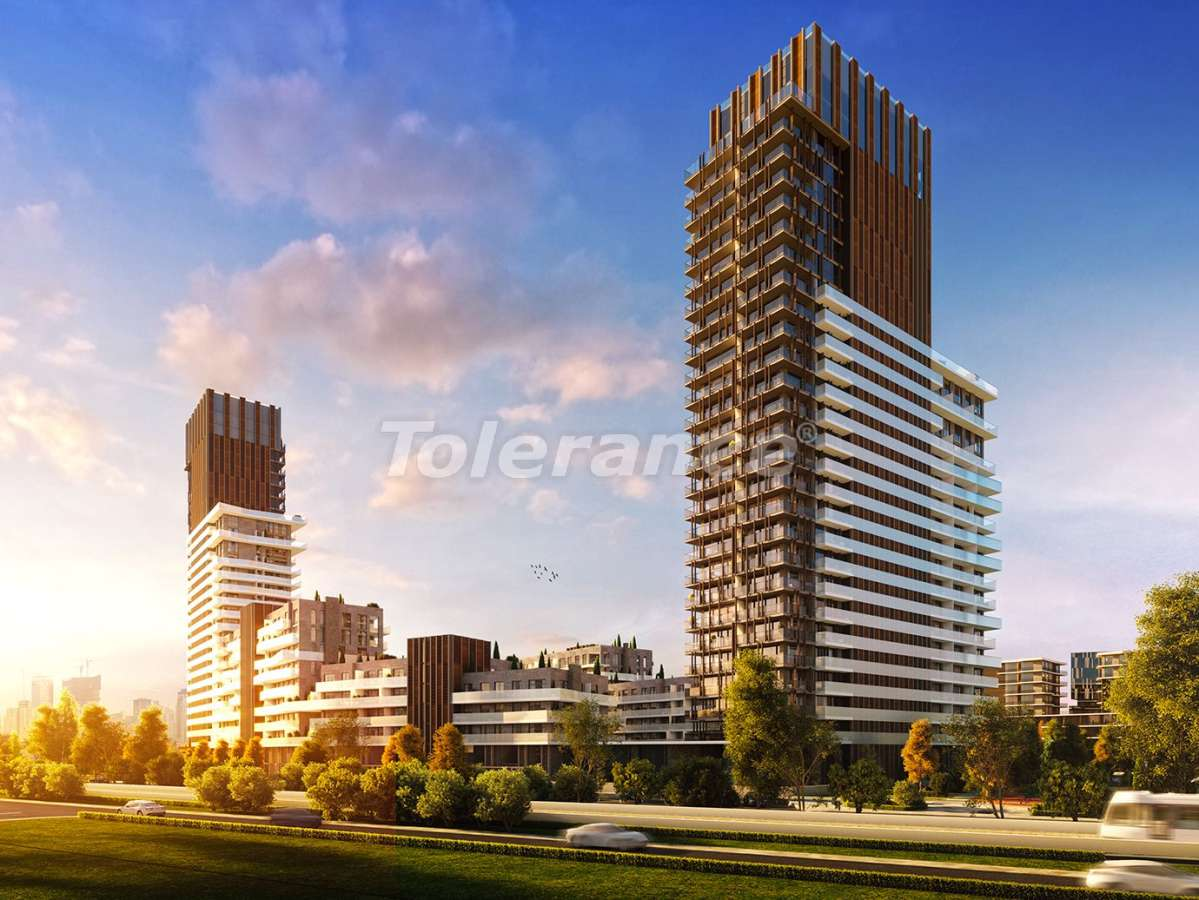 Luxury apartments in the center of Izmir from the best construction