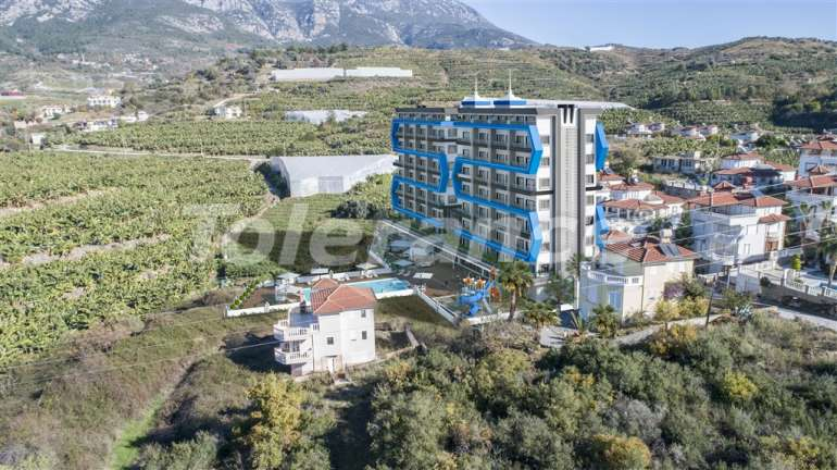 Apartments in Mahmutlar, Alanya with pool and installments - 15820 | Tolerance Homes