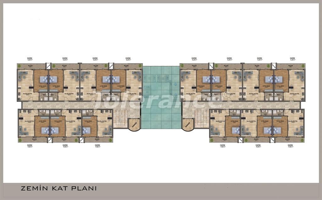Apartments in Mahmutlar, Alanya with pool and installments - 15854 | Tolerance Homes