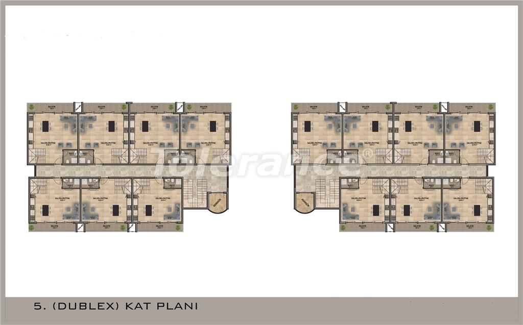 Apartments in Mahmutlar, Alanya with pool and installments - 15844 | Tolerance Homes