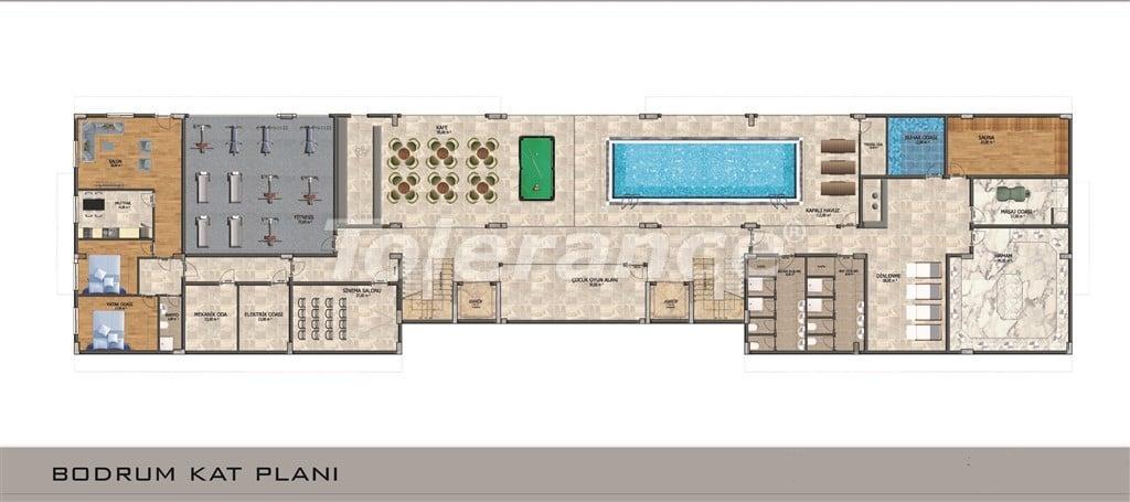 Apartments in Mahmutlar, Alanya with pool and installments - 15846 | Tolerance Homes
