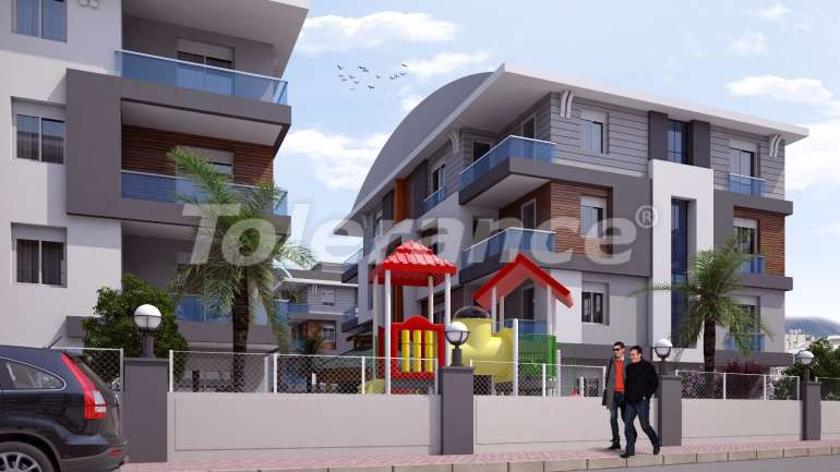 Inexpensive apartments in Kepez, Antalya high class - 15608 | Tolerance Homes