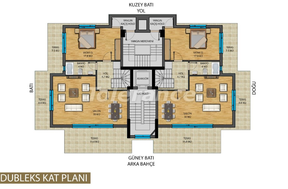 Apartments in the center of Antalya from developer - 20822 | Tolerance Homes