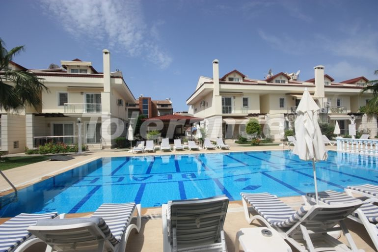Secondary  apartments with furniture and appliances in Fethiye near the sea in the complex with a swimming pool - 16094 | Tolerance Homes