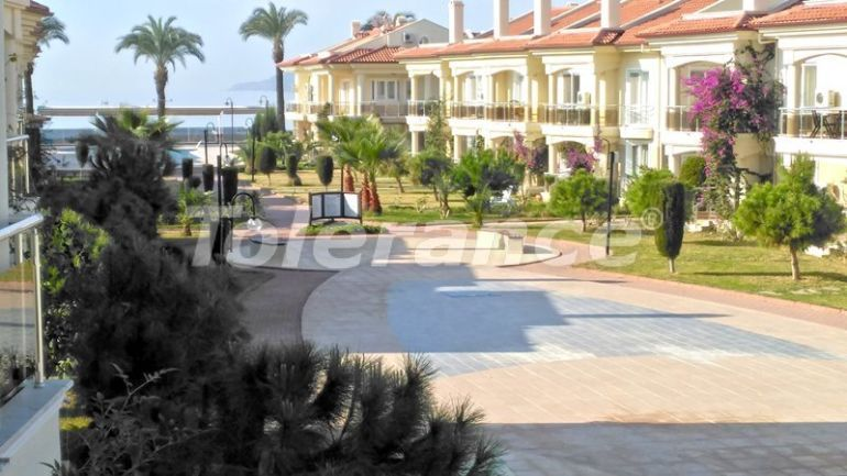 Affordable resale apartment in Fethiye  furnished in the complex with a swimming pool on the first coastline - 16152 | Tolerance Homes