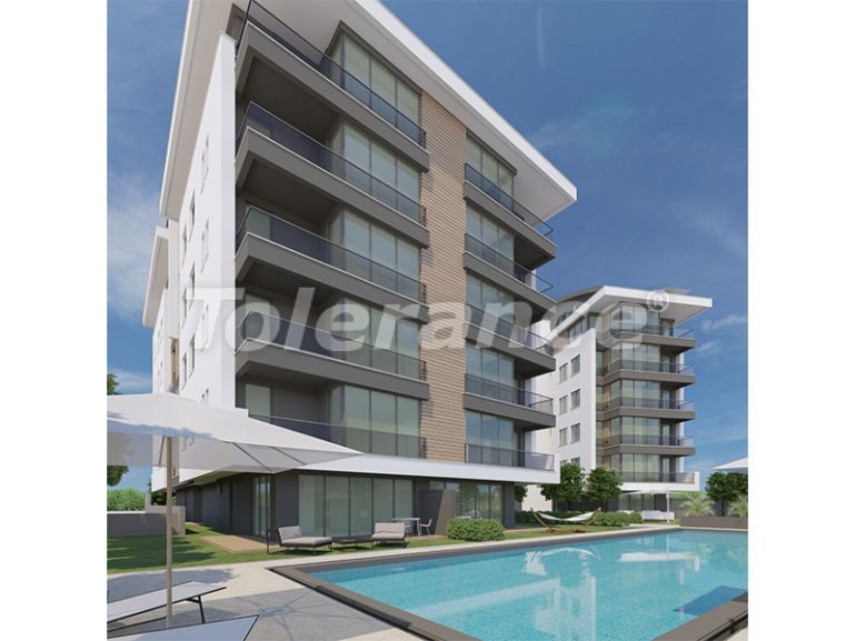 Modern  apartments in Uncali, Konyaalti with a swimming pool from the reliable developer with installments - 16187 | Tolerance Homes