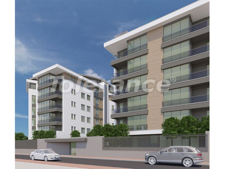 Modern  apartments in Uncali, Konyaalti with a swimming pool from the reliable developer with installments - 16186 | Tolerance Homes
