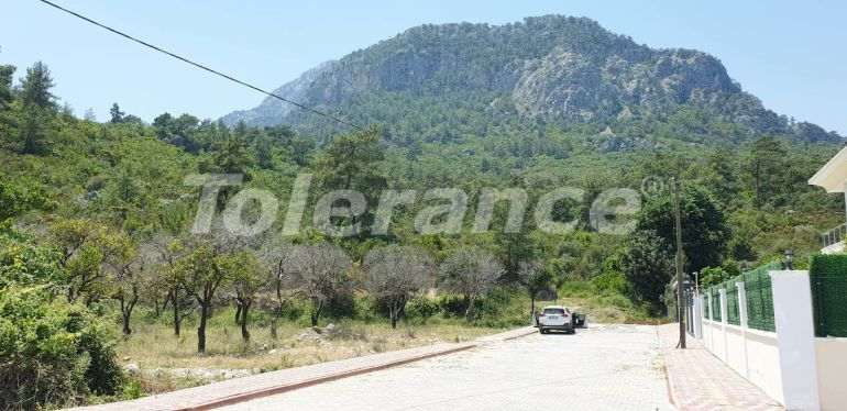 The plot in Goynuk, Kemer with a project for construction - 16246 | Tolerance Homes