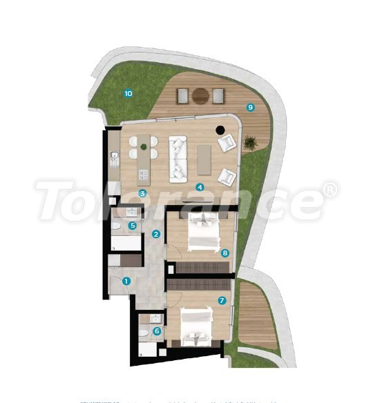 Luxury apartments in Cesme, Izmir on the beach from the best developer with installments up to 1 year - 16444 | Tolerance Homes