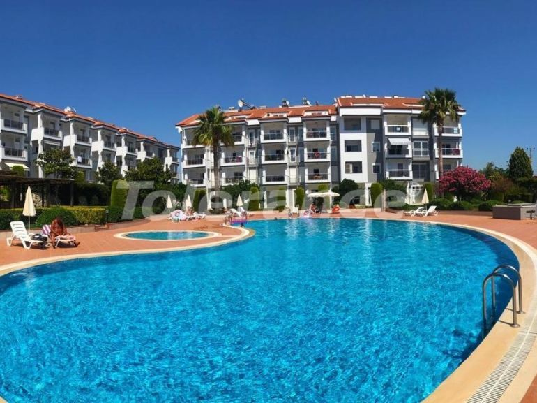 Secondary apartments in Side furnished in the complex with swimming pool - 16500 | Tolerance Homes