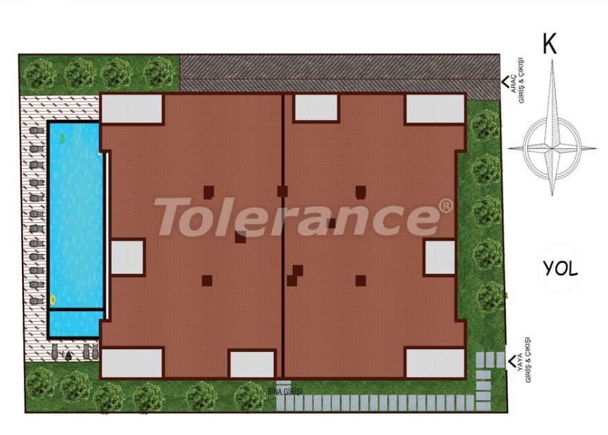 Apartments in Sarysu, Konyaalti from a reliable developer near the sea - 16716 | Tolerance Homes