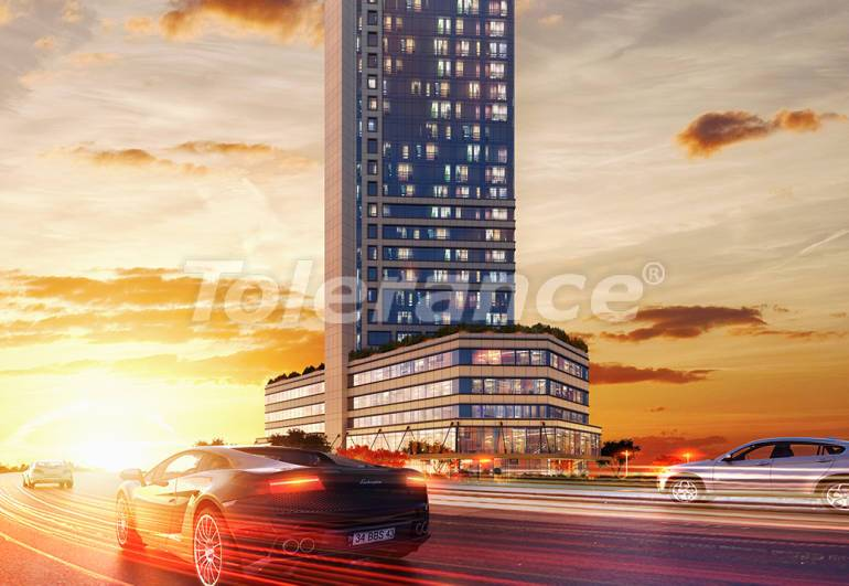 Spacious offices in Sisli, Istanbul in a modern complex with a rental guarantee for 3 years - 24710   Tolerance Homes