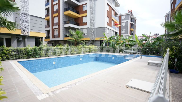 Inexpensive resale apartment in the center of Antalya in a complex with a swimming pool - 44423 | Tolerance Homes