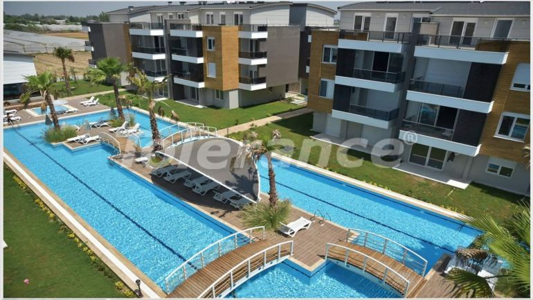 Spacious apartments in Guzeloba, Antalya in the complex with swimming pool - 17080 | Tolerance Homes
