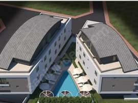 Affordable two bedroom apartment in Lara, Antalya in the complex with swimming pool - 17098   Tolerance Homes