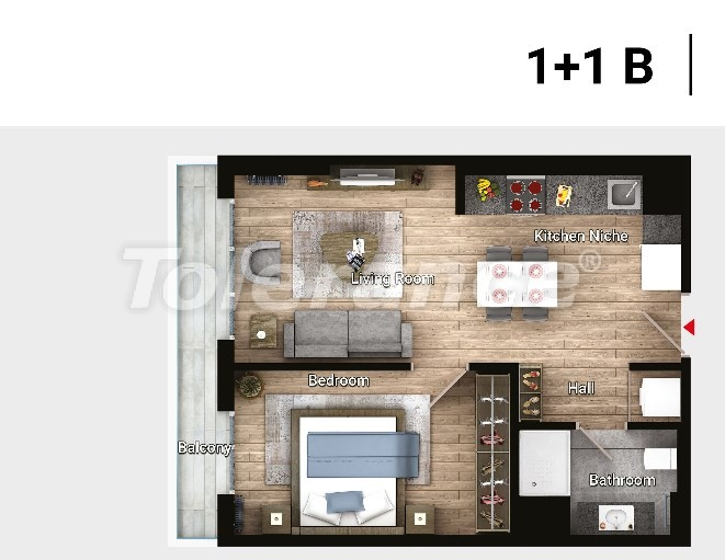Apartments in Avcilar, Istanbul in the modern complex from the developer with installments  up to 3 years - 17176 | Tolerance Homes