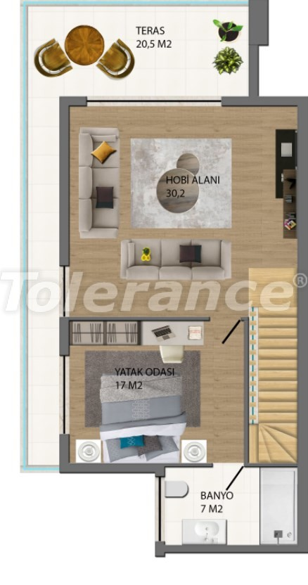 Modern villas in Konyaalti, Antalya from the developer with the possibility of installment and obtaining Turkish citizenship - 17227 | Tolerance Homes