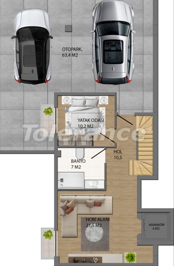 Modern villas in Konyaalti, Antalya from the developer with the possibility of installment and obtaining Turkish citizenship - 17235 | Tolerance Homes