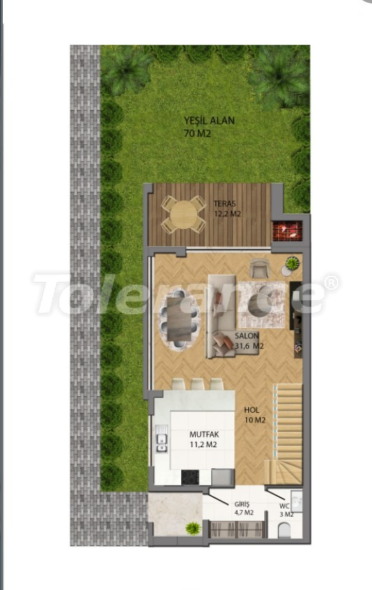 Modern villas in Konyaalti, Antalya from the developer with the possibility of installment and obtaining Turkish citizenship - 17229 | Tolerance Homes