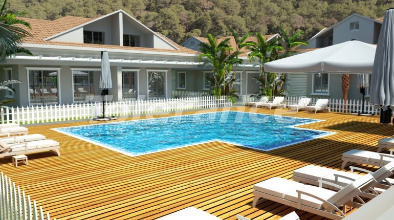 Modern villas in Kuzdere, Kemer in a complex with swimming pool - 17373 | Tolerance Homes