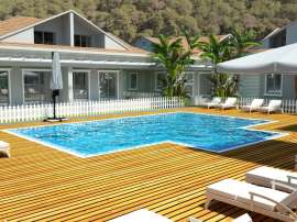 Modern villas in Kuzdere, Kemer in a complex with swimming pool - 17373   Tolerance Homes