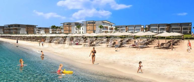 Two-bedroom apartments in Bodrum by the sea - 17463 | Tolerance Homes