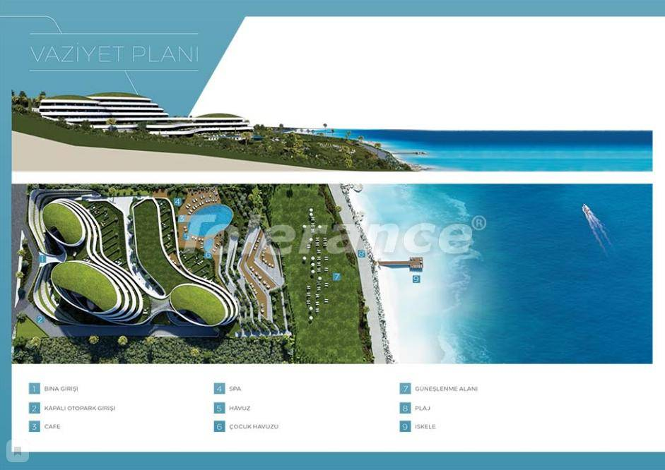 Modern apartments in Cesme, Izmir by the sea from the reliable developer with installments - 17480 | Tolerance Homes