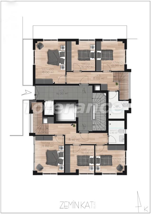 Spacious apartment in Lara, Antalya near the sea - 17685 | Tolerance Homes