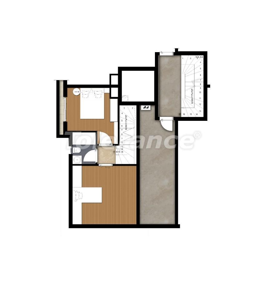 Spacious apartment in Lara, Antalya near the sea - 17679 | Tolerance Homes