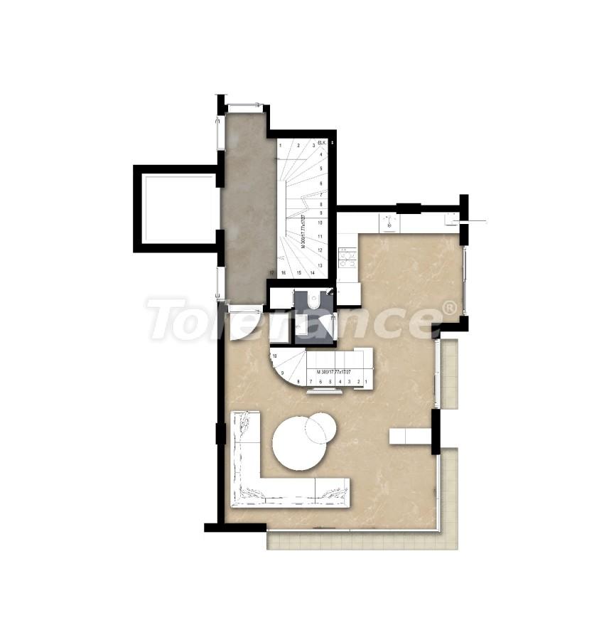 Spacious apartment in Lara, Antalya near the sea - 17682 | Tolerance Homes