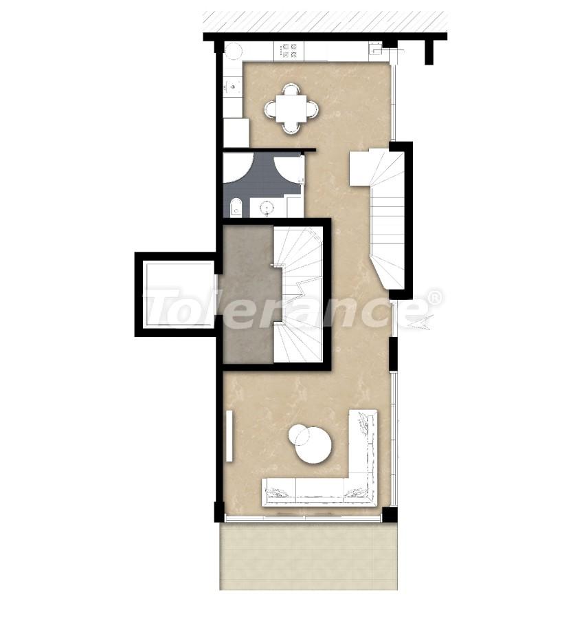 Spacious apartment in Lara, Antalya near the sea - 17683 | Tolerance Homes