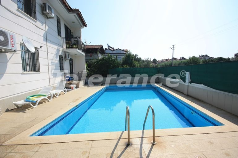 Secondary  two bedroom apartment in Calis, Fethiye in a complex with a swimming pool - 17756   Tolerance Homes