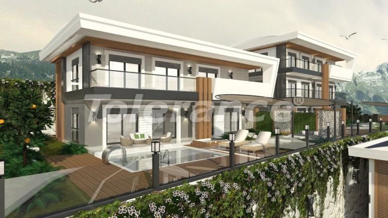 Modern villas in the centre of Alanya with the possibility of obtaining citizenship - 18001   Tolerance Homes