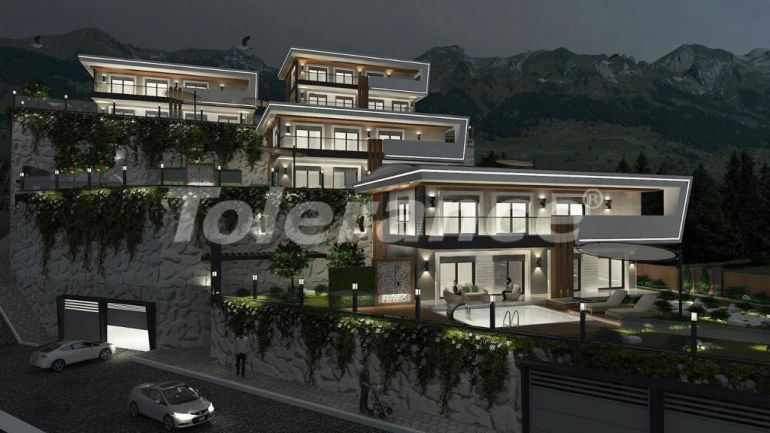 Modern villas in the centre of Alanya with the possibility of obtaining citizenship - 18002   Tolerance Homes