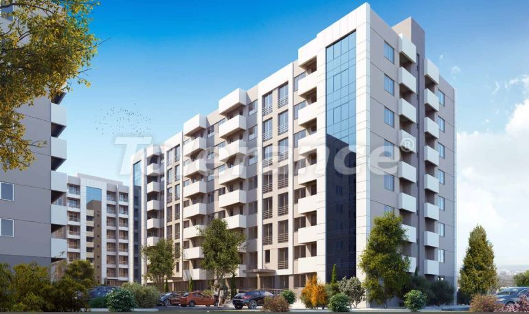 New inexpensive apartments in Izmir with central gas heating in installments - 18828 | Tolerance Homes