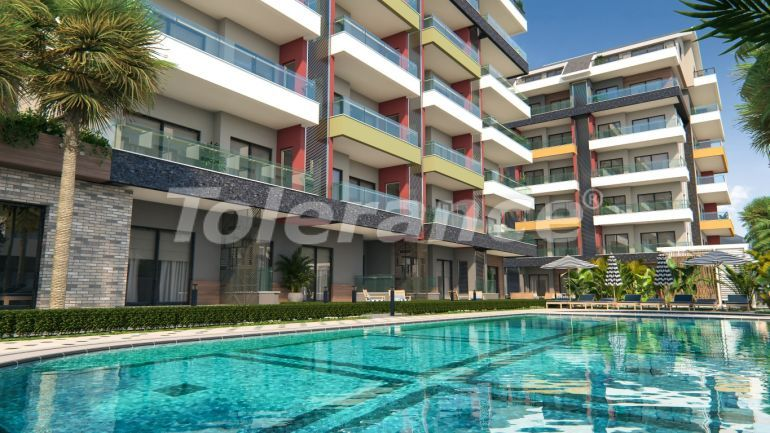Modern apartments in Kargicak with a swimming pool from the reliable developer with installments - 18128 | Tolerance Homes