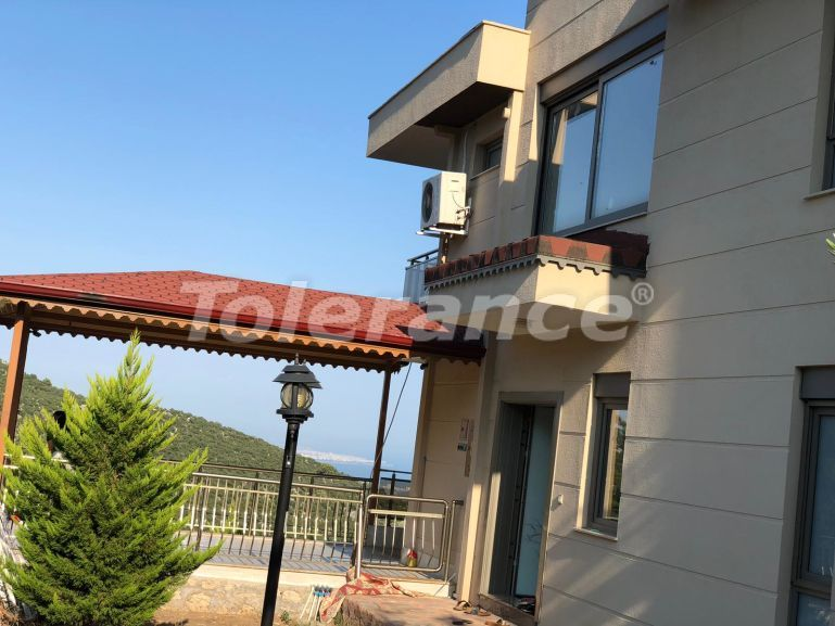 Detached house in Geyikbayiri, Antalya fully furnished with beautiful sea and mountain view - 18433 | Tolerance Homes