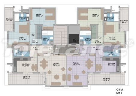 Apartments in Oba in the modern complex from the developer with installments up to 1 year - 18178 | Tolerance Homes