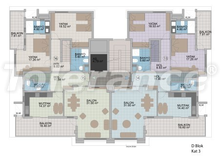 Apartments in Oba in the modern complex from the developer with installments up to 1 year - 18183 | Tolerance Homes