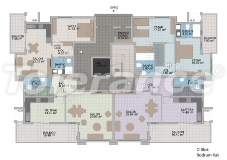 Apartments in Oba in the modern complex from the developer with installments up to 1 year - 18184 | Tolerance Homes