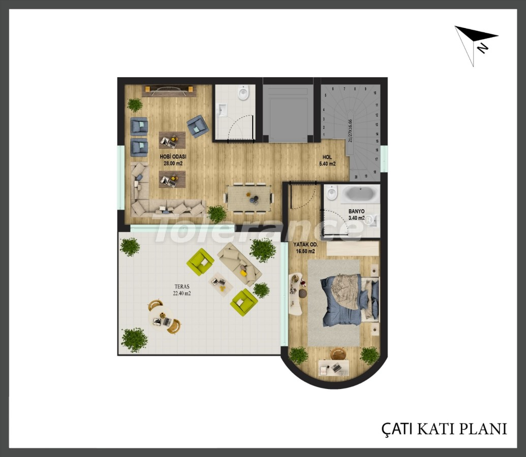 Detached villa in Konyaalti, Antalya with private pool and the possibility of obtaining Turkish citizenship - 18667   Tolerance Homes