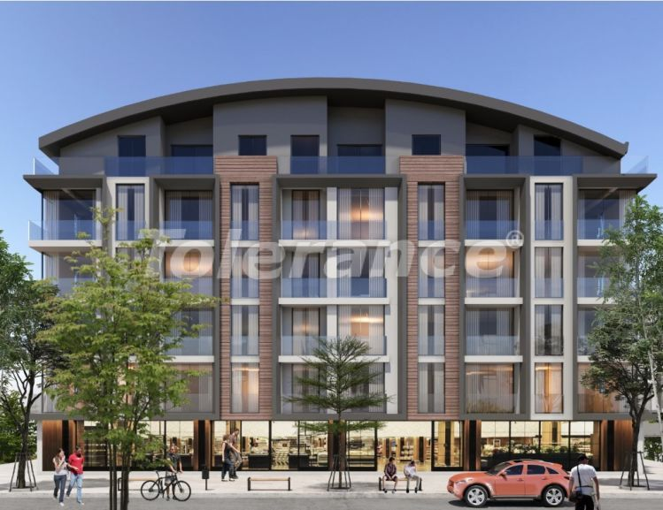 Apartments in Hurma, Konyaalti in a complex with outdoor and indoor pools from the developer - 18664 | Tolerance Homes